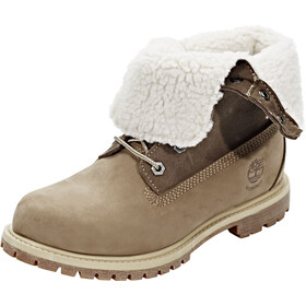 Timberland Authentics Teddy Fleece WP Fold-Down - Chaussures Femme - marron
